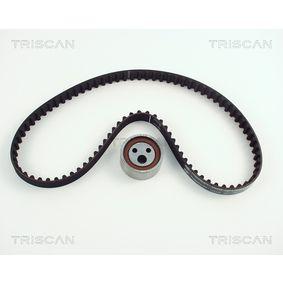 Zahnriemensatz TRISCAN Art.No - 8647 25003 OEM: 7701472675 für RENAULT, SANTANA, RENAULT TRUCKS kaufen