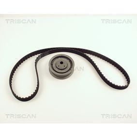 Zahnriemensatz TRISCAN Art.No - 8647 29001 OEM: 6K0198002 für VW, AUDI, SKODA, SEAT kaufen