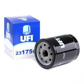 60810709 pour FIAT, ALFA ROMEO, LANCIA, Filtre à huile UFI (23.175.00) Boutique en ligne