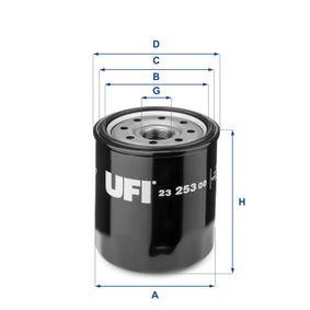 UFI Sistema de ventilación del cárter 23.253.00