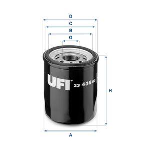 UFI Filtro recirculación de gases (23.438.00)