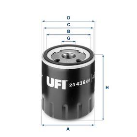 UFI Filtro recirculación de gases (23.439.00)