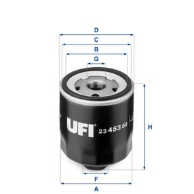 UFI SEAT IBIZA Cables de bujías (23.453.00)