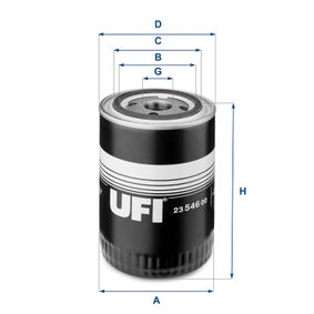 UFI Filtro de aceite 23.546.00