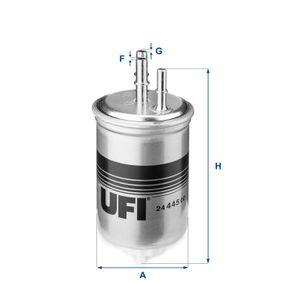 UFI Filtro de combustible (24.445.00)