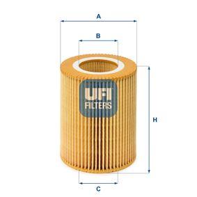 Ölfilter UFI (25.004.00) für BMW 5er Preise