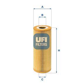 UFI Ölfilter 25.011.00