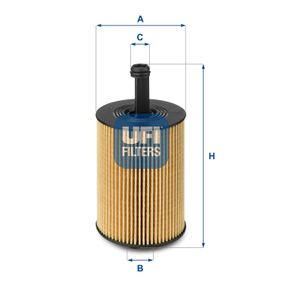 Капак на фланец, ръчна трансмисионна кутия UFI (25.023.00) за VW GOLF Цени