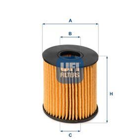 UFI Filtro recirculación de gases (25.060.00)