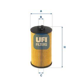 Filtro de combustible UFI (25.064.00) para OPEL ASTRA precios