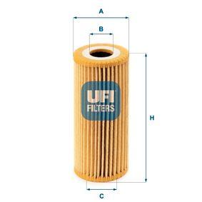 UFI Ölfilter (25.067.00) niedriger Preis
