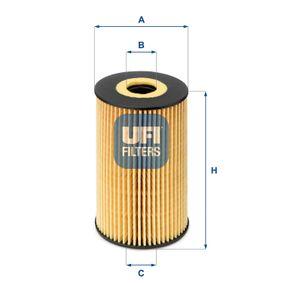 UFI Motorölfilter (25.106.00)