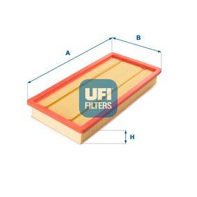 Filtro de aire UFI (30.135.00) para FIAT STILO precios