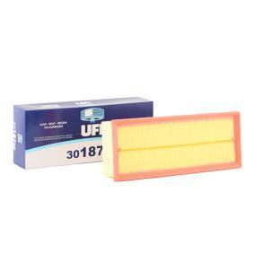 Luftfilter UFI Art.No - 30.187.00 OEM: 1K0129620D für VW, AUDI, SKODA, SEAT, PORSCHE kaufen