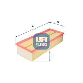 TOURAN (1T1, 1T2) UFI Luftfilter 30.187.00