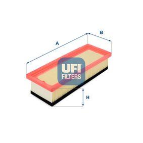 Filtro de aire UFI (30.301.00) para FIAT GRANDE PUNTO precios