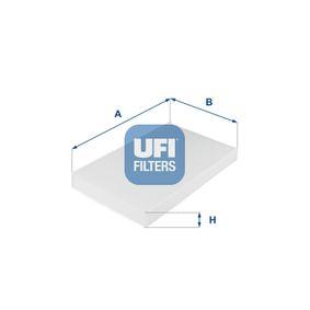 UFI Filtro de habitáculo (53.038.00)