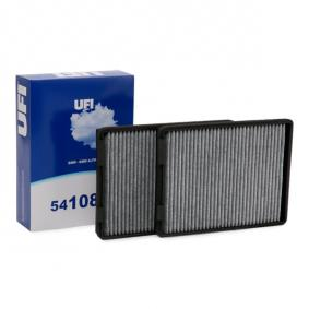 Filter, Innenraumluft UFI Art.No - 54.108.00 OEM: 64312207985 für BMW, AUDI, MAZDA, MINI, ALPINA kaufen