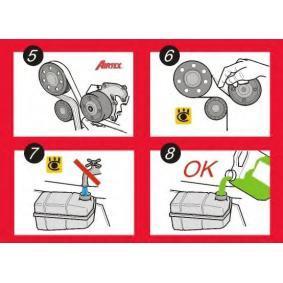 SKODA FABIA Combi (6Y5) AIRTEX Bomba de Agua + Kit de Distribución WPK-177602 comprar