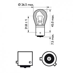 AUDI A4 3.0 quattro 220 PS ab Baujahr 09.2001 - Blinkleuchten Glühlampe (12496NAB2) PHILIPS Shop
