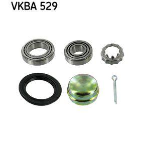 SKF Jogo de rolamentos de roda Eixo traseiro, Eixo dianteiro VKBD0149, VKBD0148 conhecimento especializado