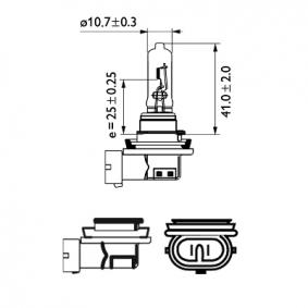 Крушка с нагреваема жичка, фар за дълги светлини 12361C1 онлайн магазин