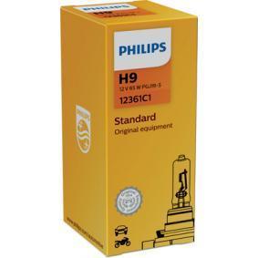 12361C1 Крушка с нагреваема жичка, фар за дълги светлини от PHILIPS качествени части