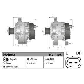 DENSO Lichtmaschine DAN1063