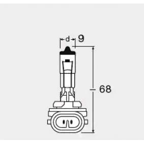 Glühlampe, Hauptscheinwerfer 881 Online Shop