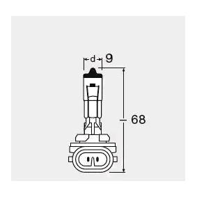 Bulb, headlight 881 online shop