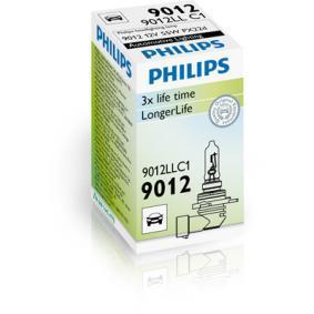 9012LLC1 Glühlampe, Fernscheinwerfer von PHILIPS Qualitäts Ersatzteile