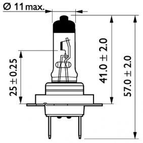 PHILIPS Glühlampe, Fernscheinwerfer 990037 für VOLVO bestellen