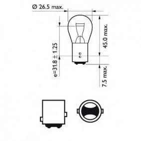 Stop light bulb 12499LLECOCP PHILIPS