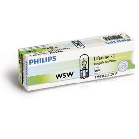 PHILIPS FIAT PUNTO Number plate light bulb (12961LLECOCP)