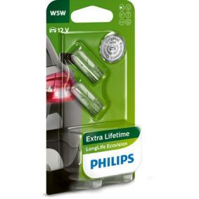 Number plate light bulb 12961LLECOB2 PHILIPS