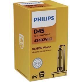 42402VIC1 Glühlampe, Fernscheinwerfer von PHILIPS Qualitäts Ersatzteile