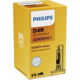 42406VIC1 Крушка с нагреваема жичка, фар за дълги светлини от PHILIPS качествени части