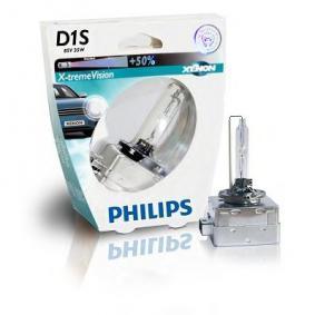 PHILIPS Lámpara, faro de carretera D1S (lámpara de descarga gaseosa), 35W, 85V 8727900364583 evaluación