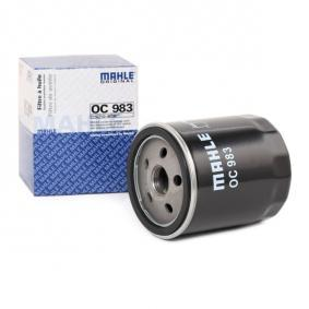 50008507 for FIAT, ALFA ROMEO, LANCIA, Oil Filter MAHLE ORIGINAL (OC 983) Online Shop