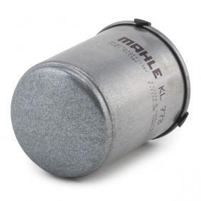 MAHLE ORIGINAL Filtro de combustible (KL 778)