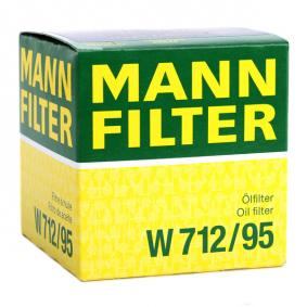 MANN-FILTER VW GOLF Ölfilter (W 712/95)