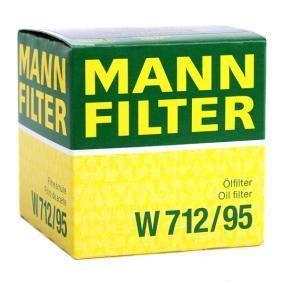 MANN-FILTER SEAT IBIZA Resortes helicoidales (W 712/95)