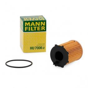 500 (312) MANN-FILTER Filtro de aceite HU 7006 z