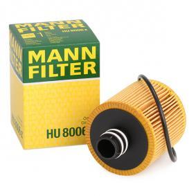 GRANDE PUNTO (199) MANN-FILTER Sensor de desgaste de pastillas de frenos HU 8006 z