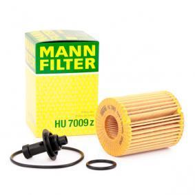 COROLLA Verso (ZER_, ZZE12_, R1_) MANN-FILTER Cables de bujías HU 7009 z