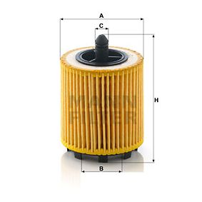 MANN-FILTER Filtro recirculación de gases (HU 6007 x)
