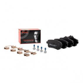 0064203420 für MERCEDES-BENZ, Bremsbelagsatz, Scheibenbremse BREMBO (P 50 099) Online-Shop