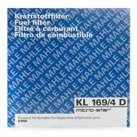 MAHLE ORIGINAL Kraftstofffilter KL 169/4D