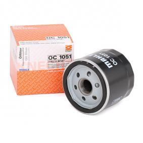 2 (DY) MAHLE ORIGINAL Oil filter OC 1051