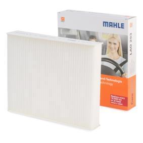 Filter, Innenraumluft MAHLE ORIGINAL Art.No - LA 742 OEM: 64119237554 für MERCEDES-BENZ, BMW, ALPINA kaufen